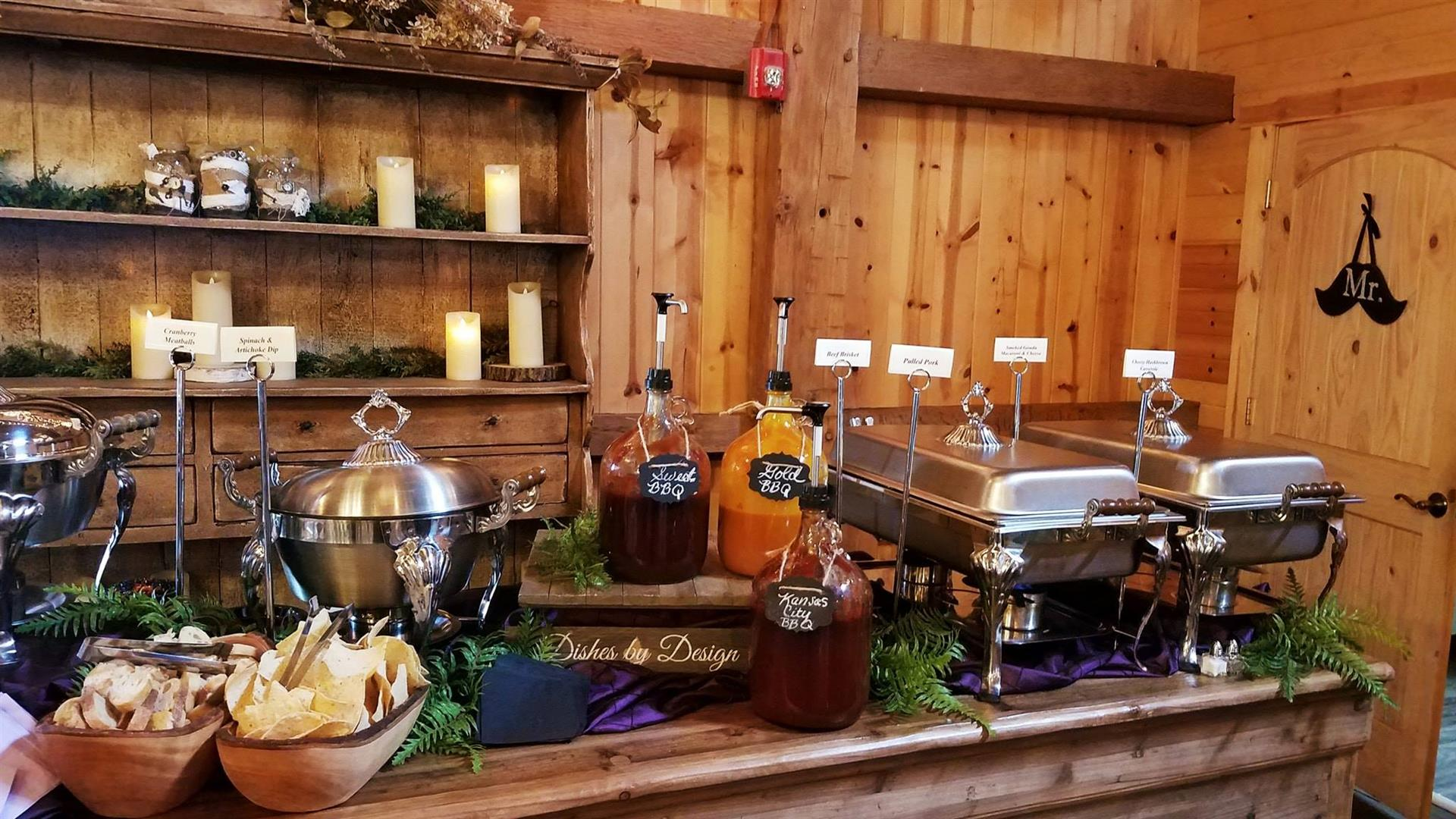 liquor bar with a variety of mixed drinks
