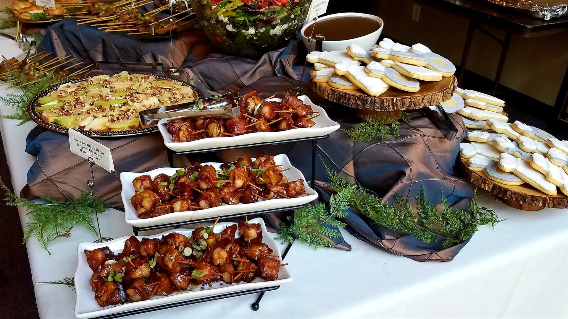 variety of appetizers