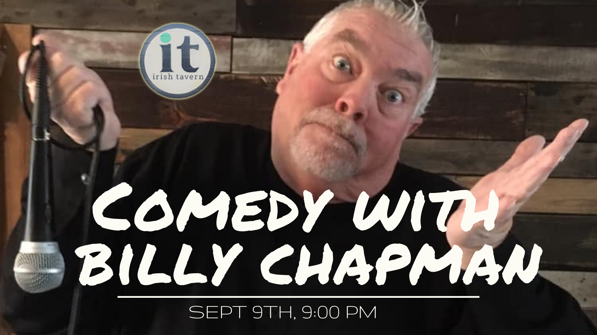Comedy Night 9/9 at 9pm