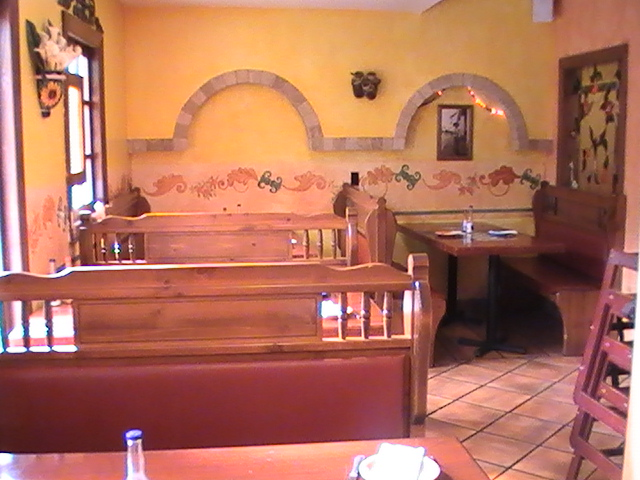 booths at Hacienda Don Manuel