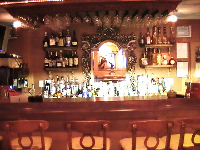 the bar inside of Hacidena Don Manuel