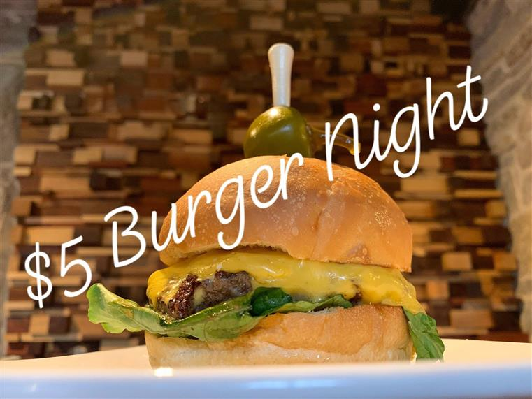 $5 Burger Night