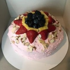 French Vanilla Almond with Fresh Fruit