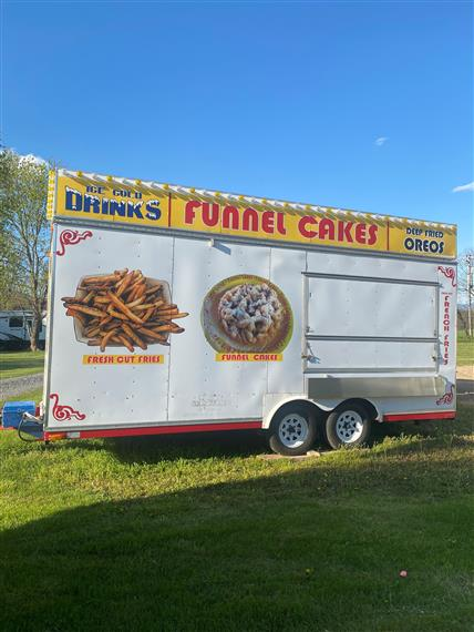 funnel cake trailer