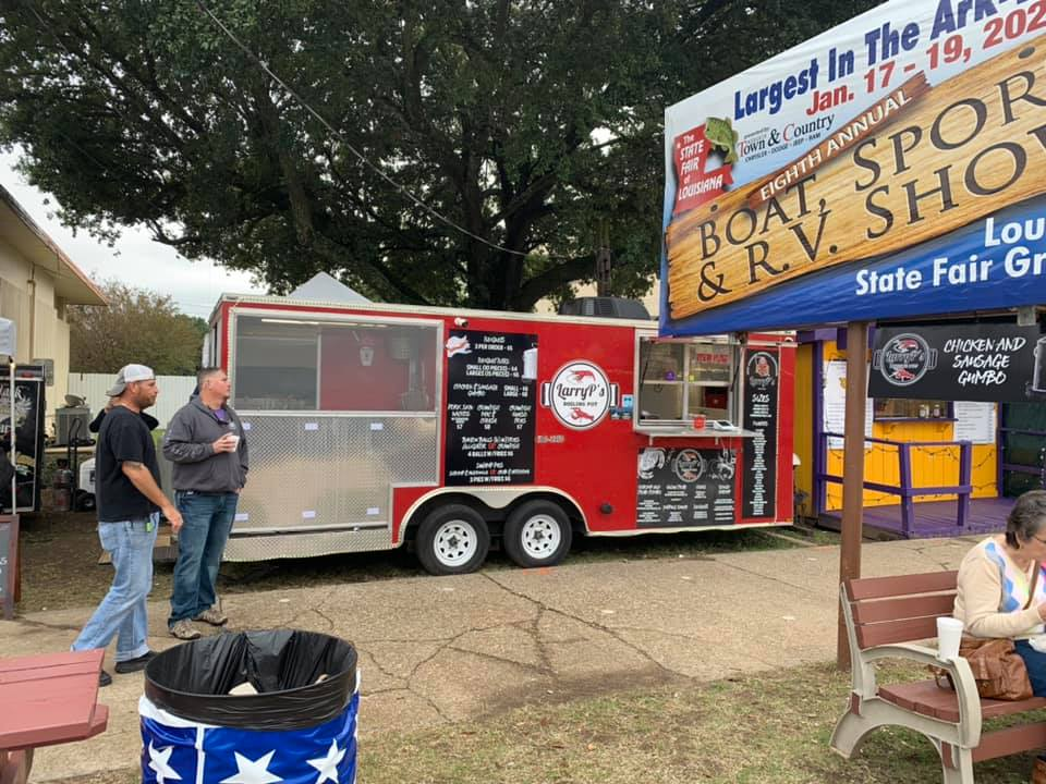 Larry P's food truck