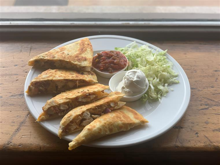Chicken Quesadilla | Habanero Cheddar | Pico de Gallo | Sour Cream | Salsa