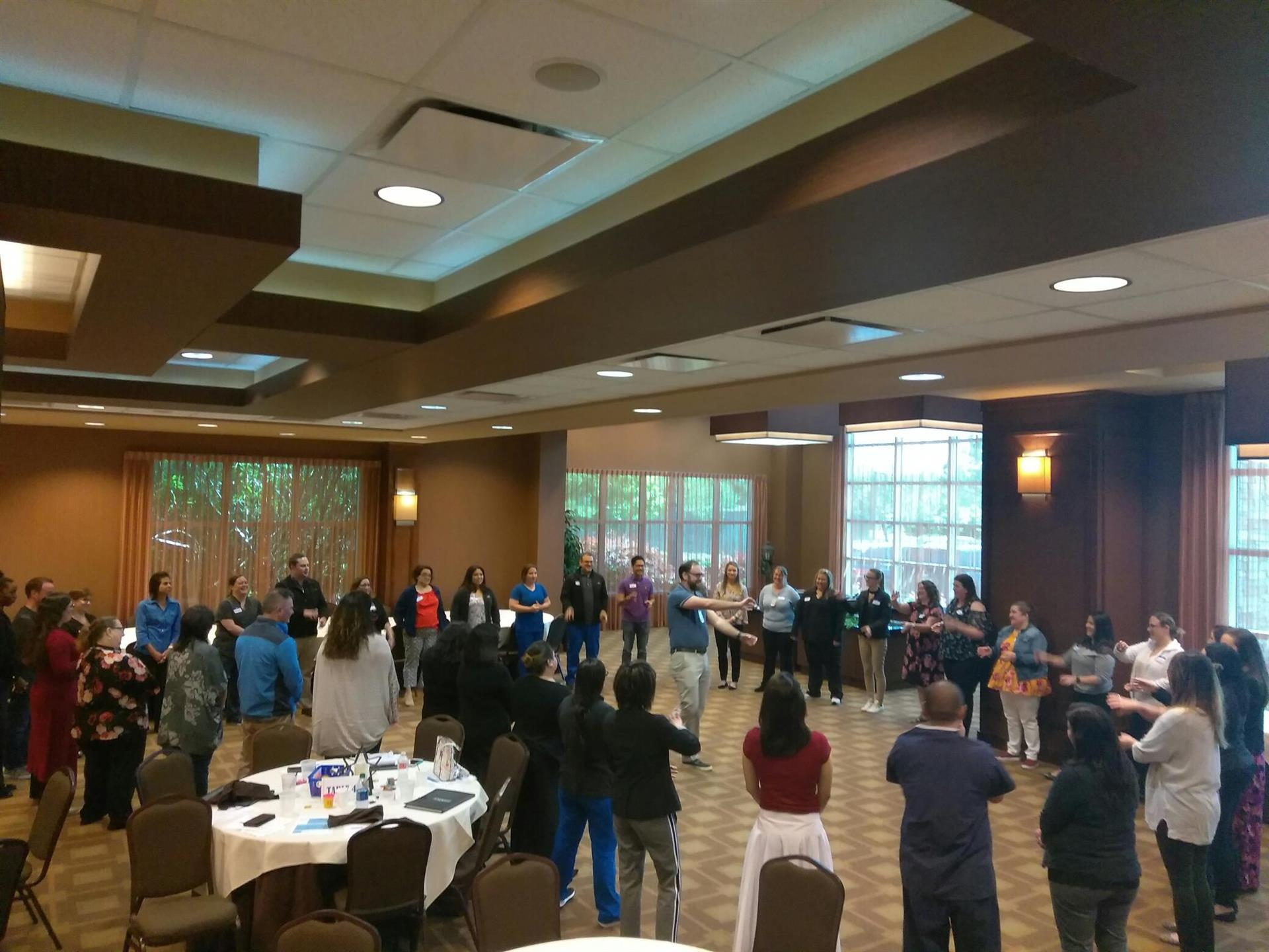 ice breaker game during a corporate event