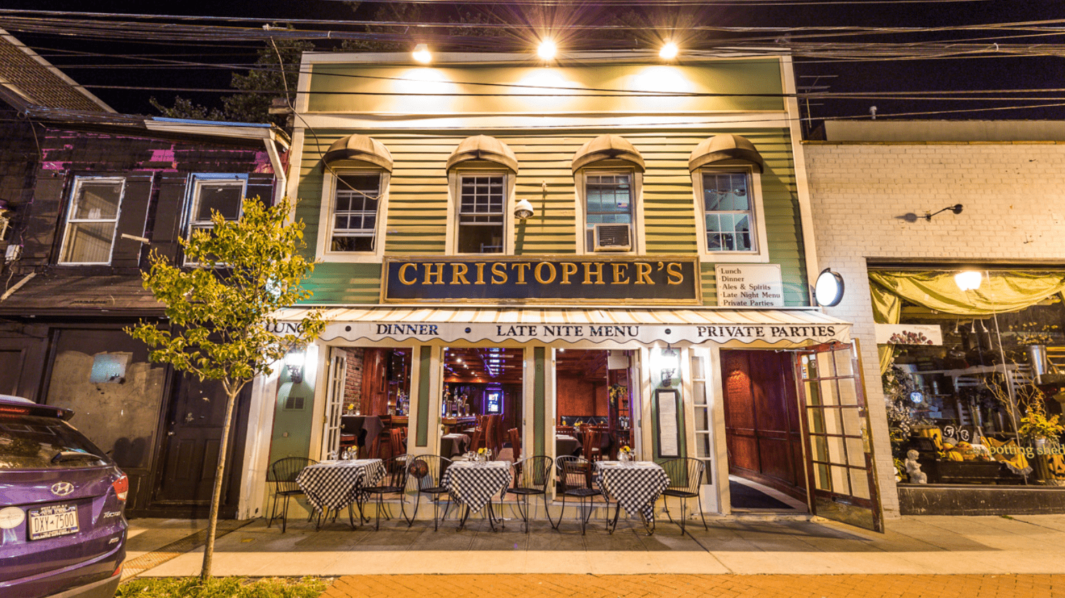 Exterior of Christophers
