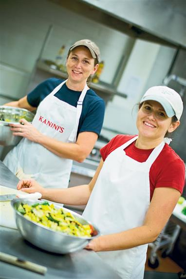 Jen and Erin of Kanini's