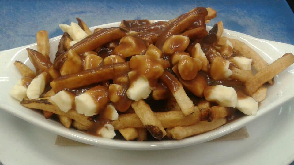 original poutine with handcut fries