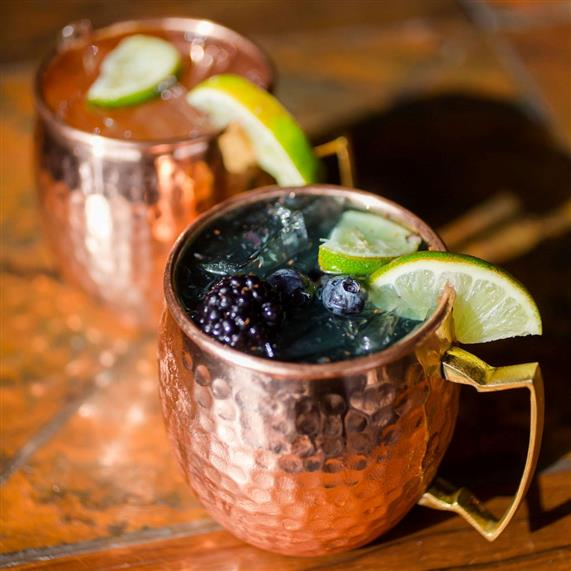 moscow mules in various flavors