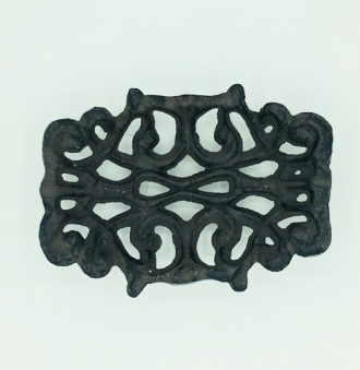 Cast Iron Filigree Soap Dish