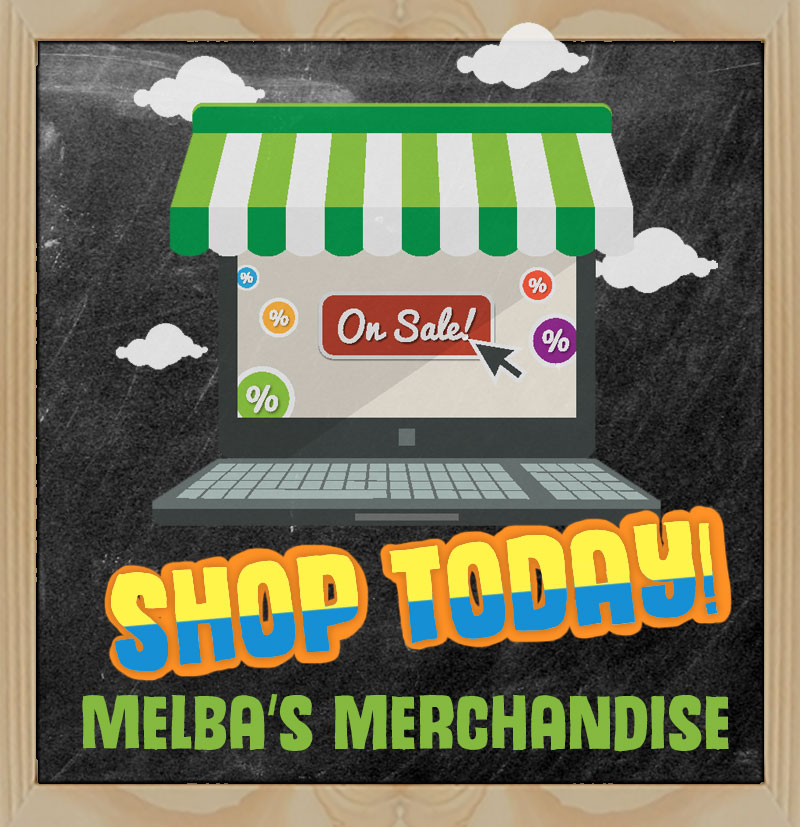 Shop Today Melba's Merchandise