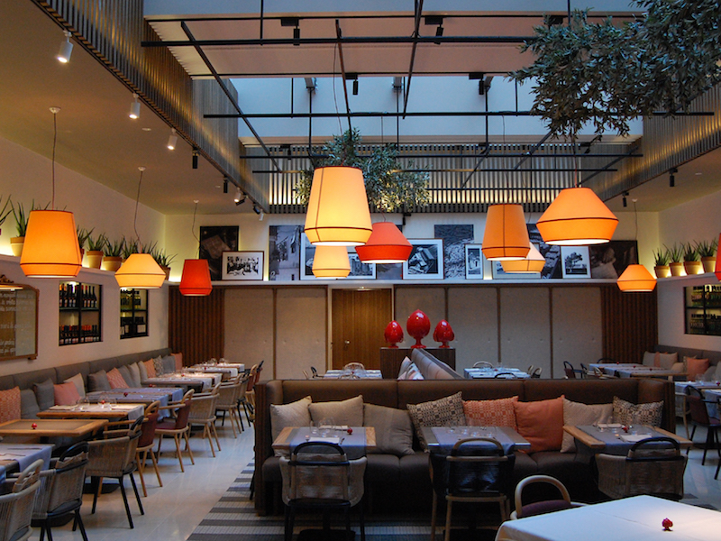 Front dining area in the london location