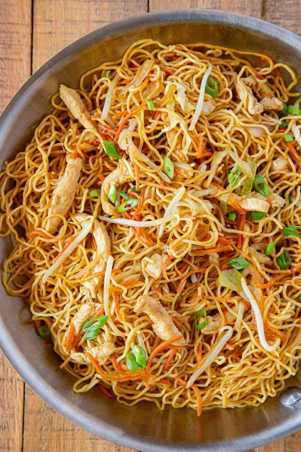 bowl of noodles with vegetables