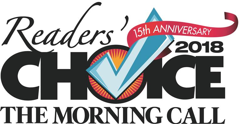 15th Anniversary Reader's Choice 2018 The Morning Call
