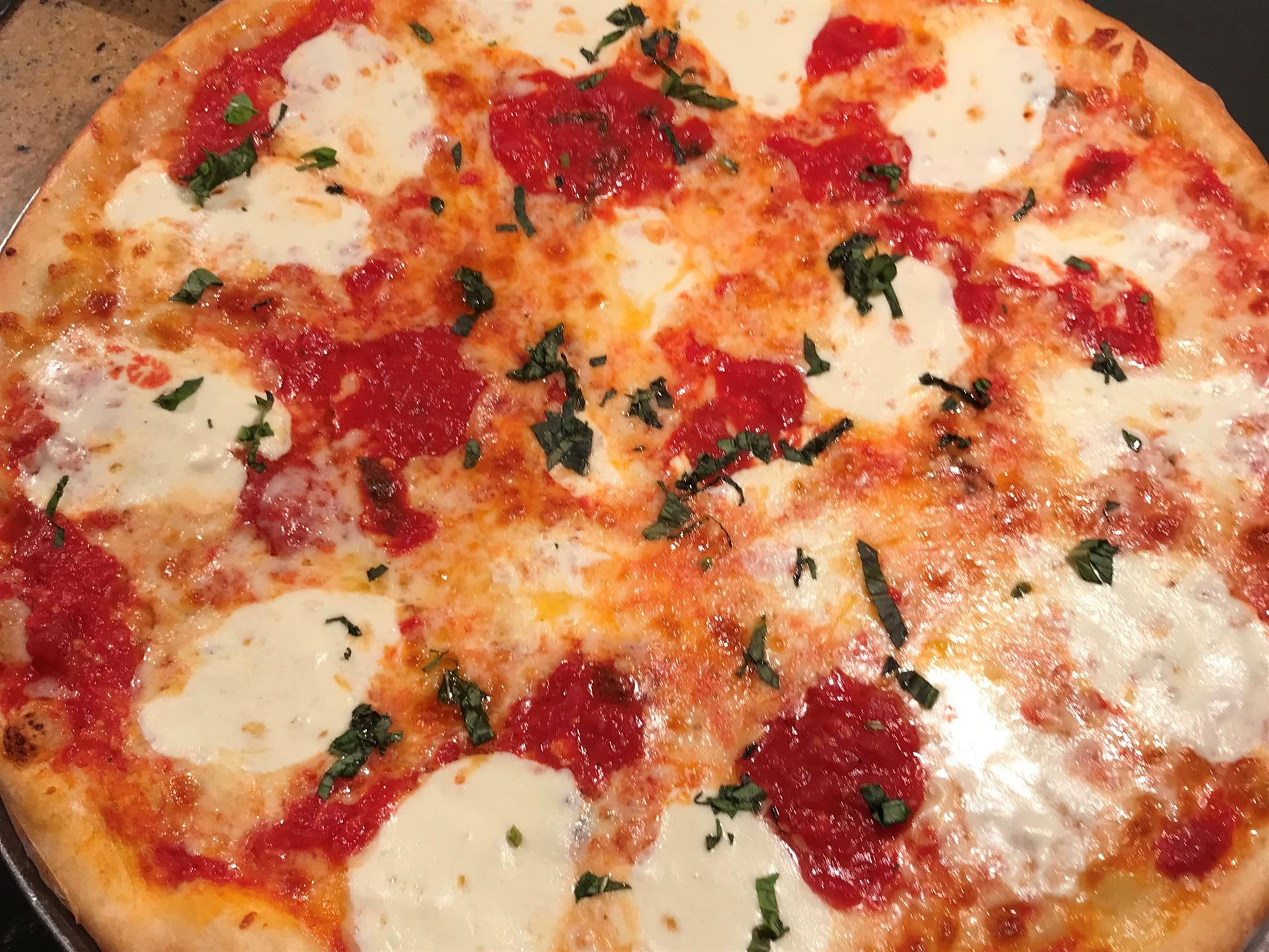 margherita pizza pie