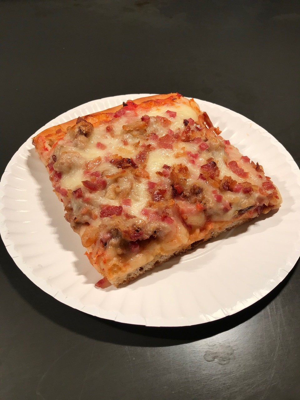 meat lovers sicilian slice
