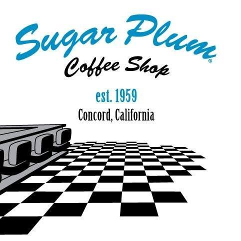 Sugar Plum Coffee Shop, Est. 1959, Concord California