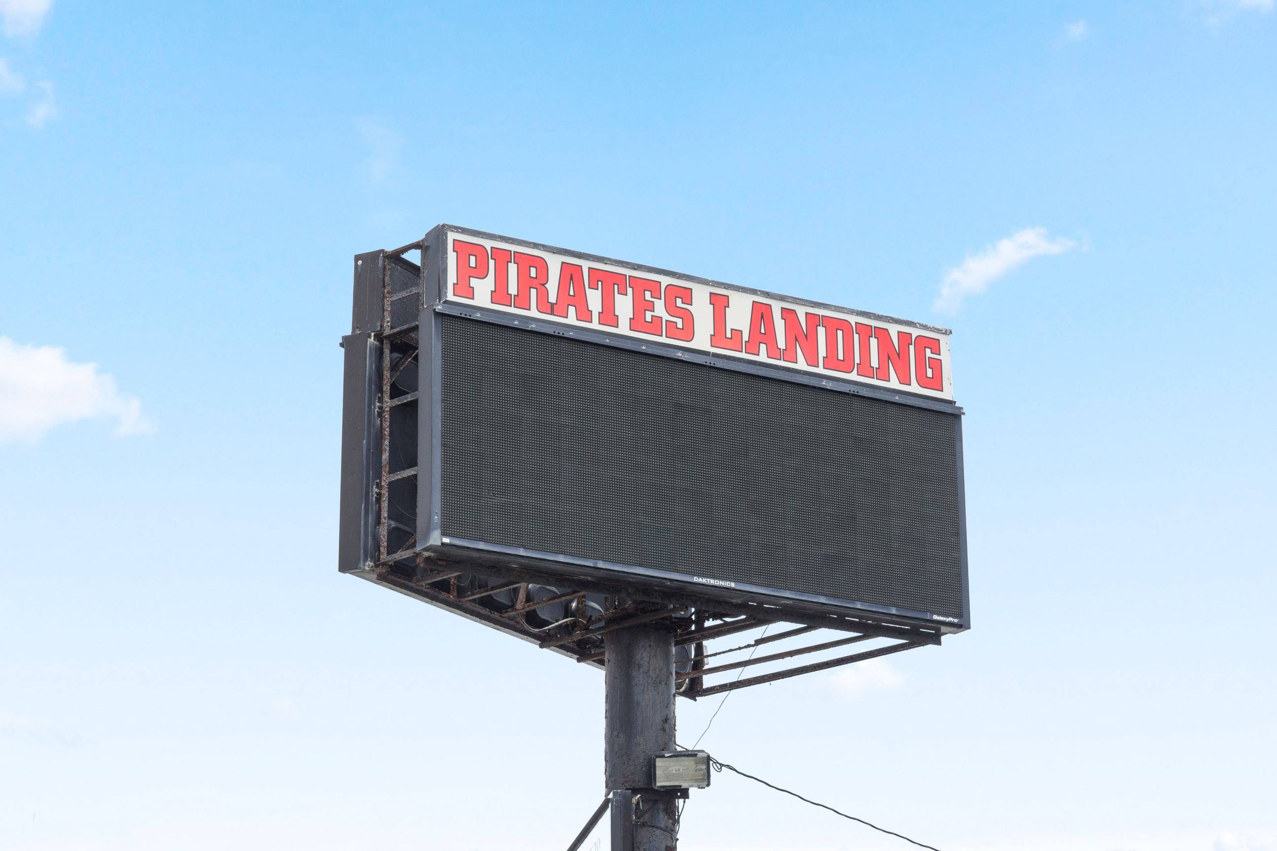 Pirates Landing billboard
