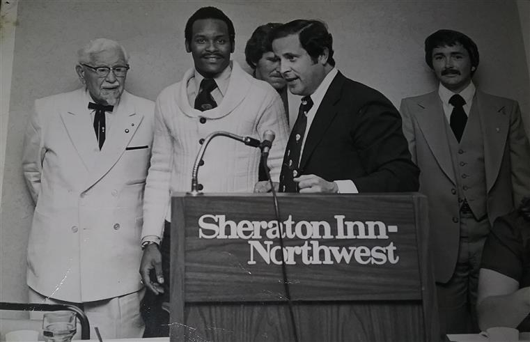 White-Glove Awards Presentation Kentucky Fried Chicken Corporation Minneapolis, MN February 1977