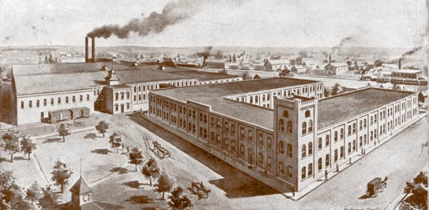 sketch of the western knitting mill