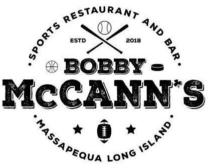Bobby McCann's Sports Restaurant and Bar. ESTD 2018. Massapequa Long Island
