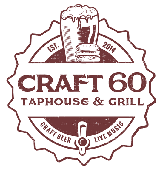 Craft 60 Taphouse & Grill. Craft Beer. Live Music. Est. 2014