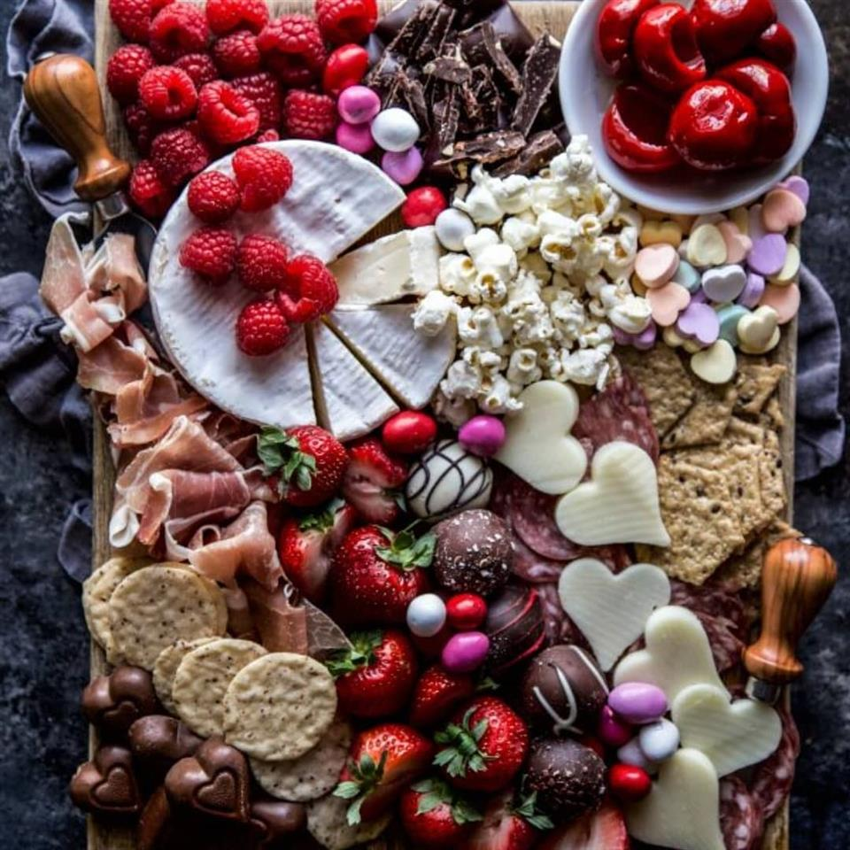 Large Valentine's Day Charcuterie Board