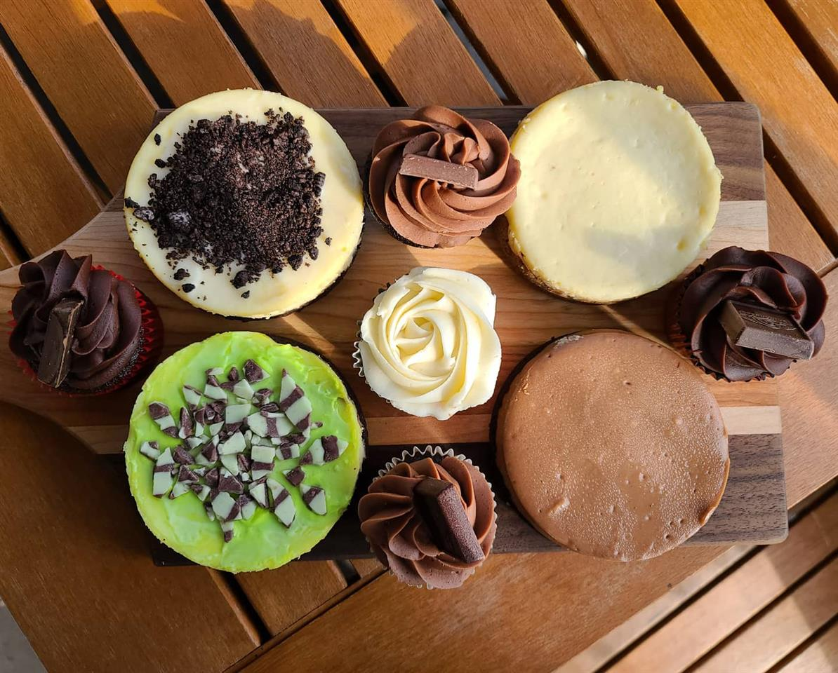 Cheesecakes (Gluten-free options available for an additional $2)