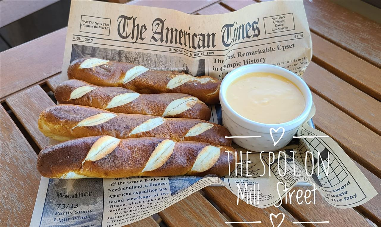 Pretzels Sticks with Beer Cheese