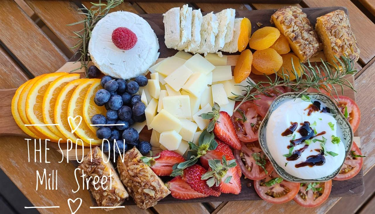 Cheese and Fruit Only