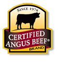 Certified Angus Beef brand, since 1978