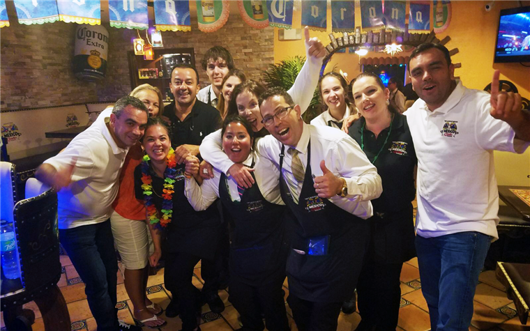 staff at mexico lindo