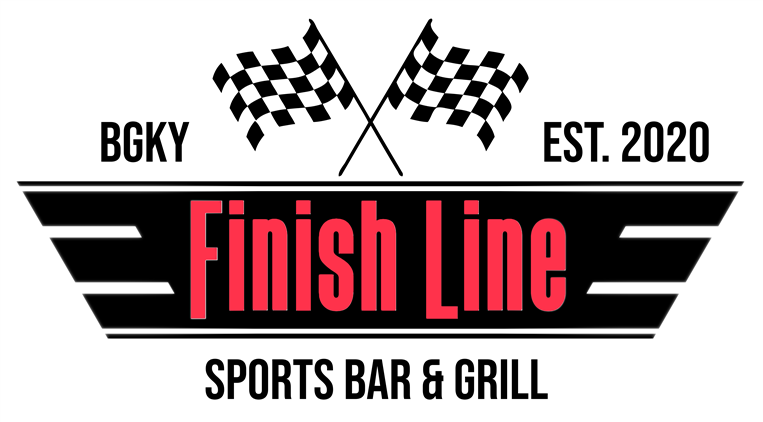 finish line sports bar & Grill. BGKY Est. 2020