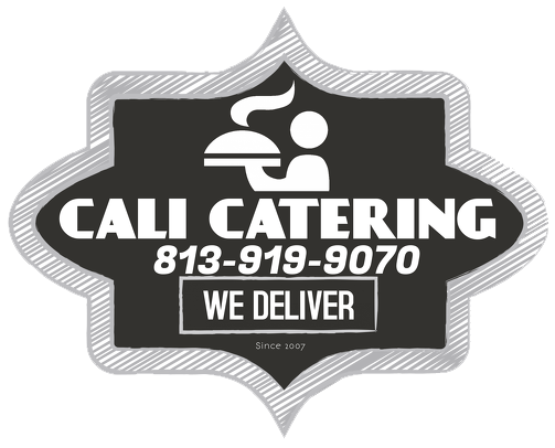 Cali Catering. 813-919-9070. we deliver. Since 2007