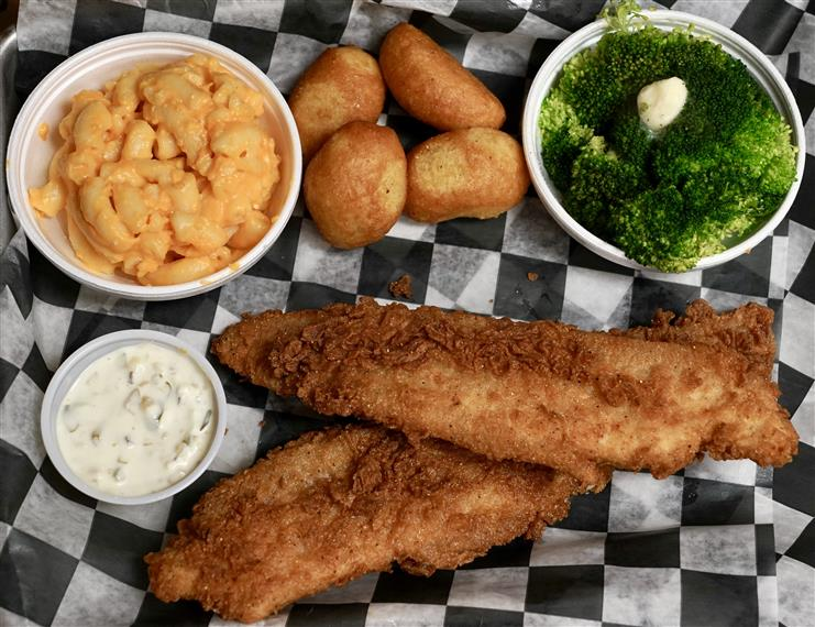 Fried Catfish Dinner