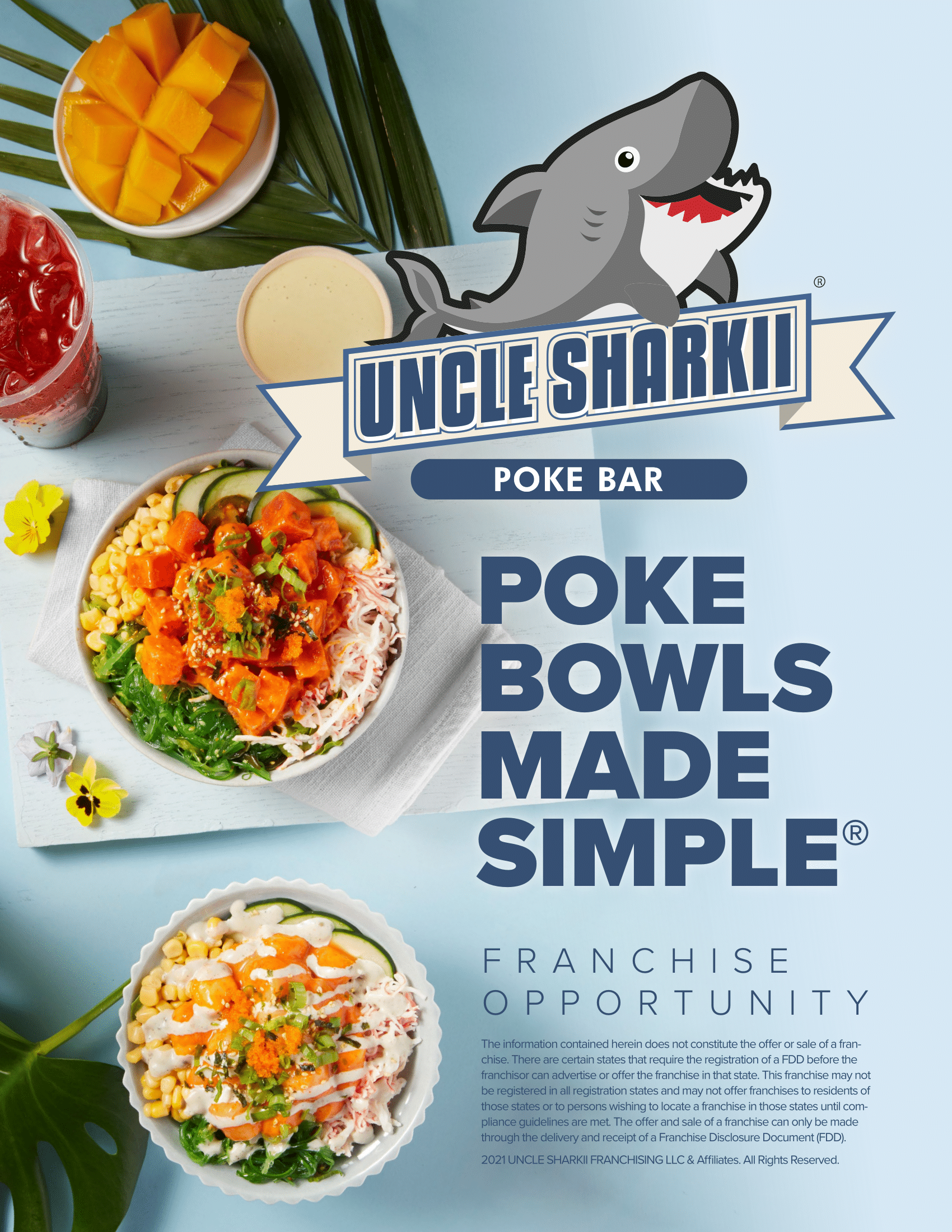 Franchise Opportunity Brochure for Uncle Sharkii - click for pdf