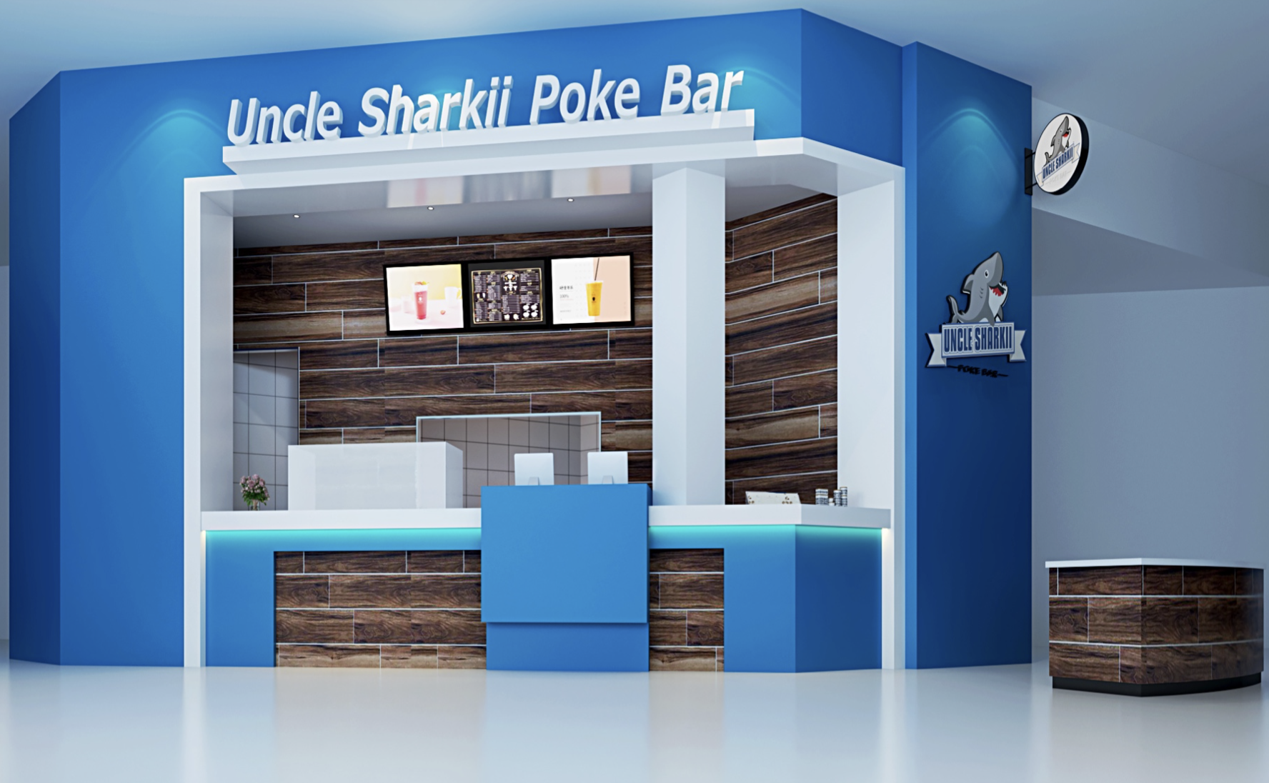Uncle Sharkii Poke Bar storefront