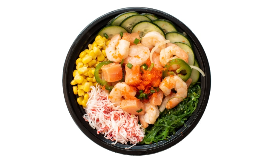 Shrimp & Salmon Poke Bowl