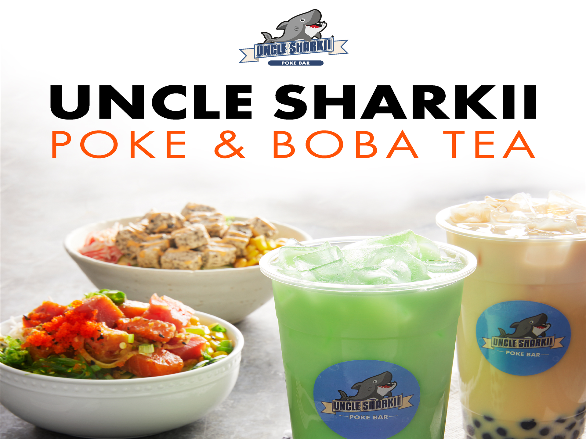 Uncle Sharkii Poke & Boba Tea