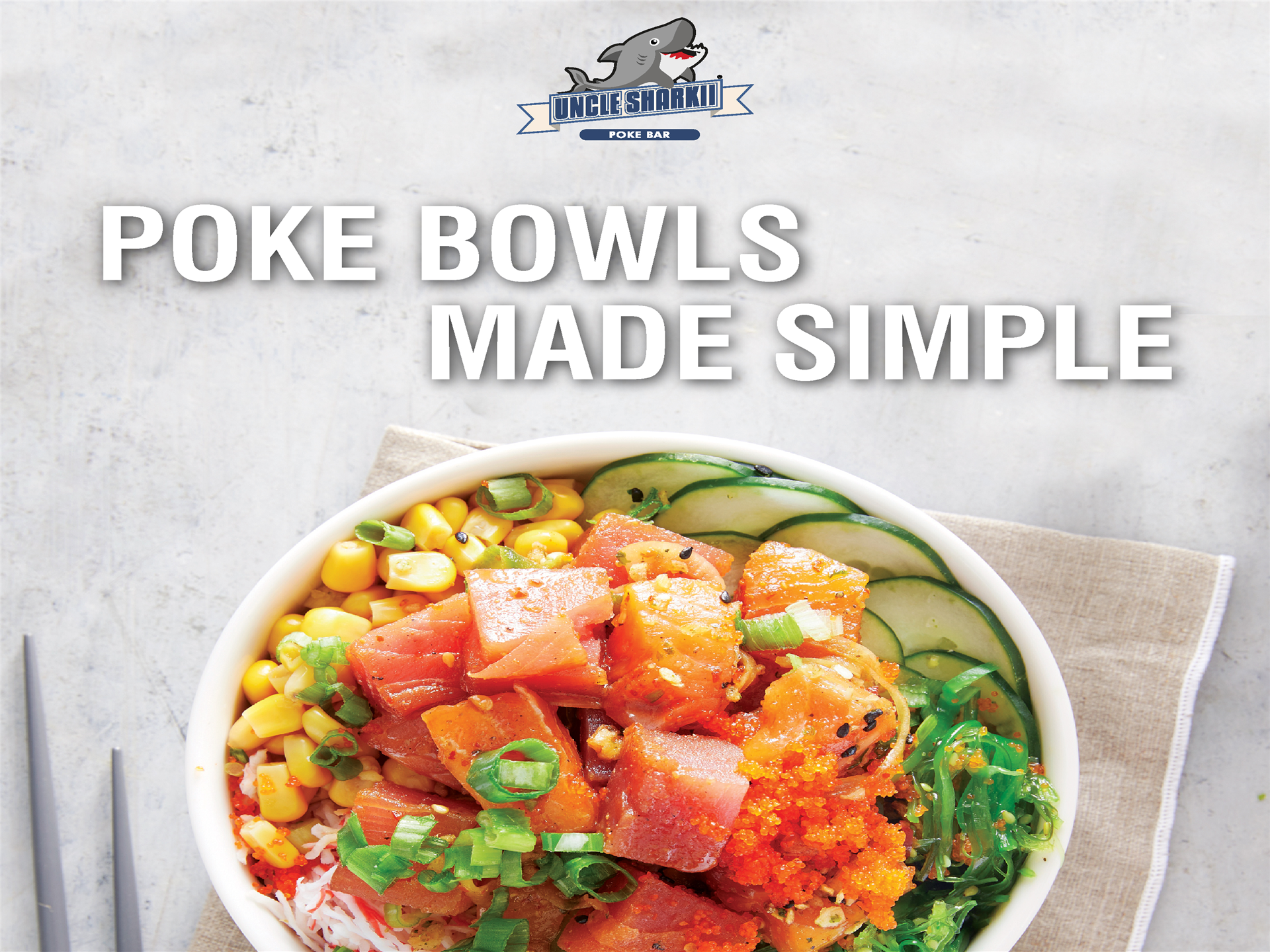 Poke Bowls Made Simple