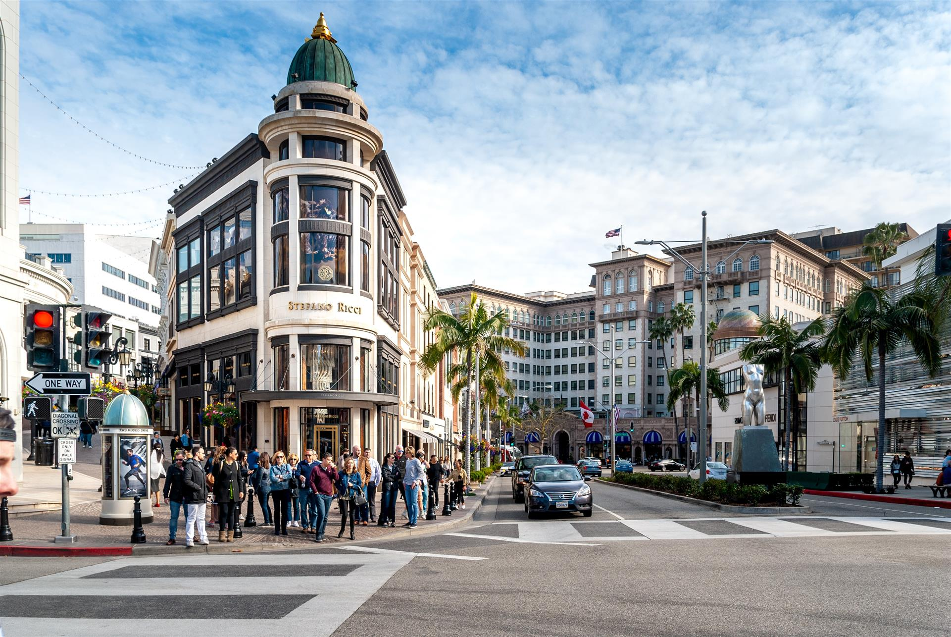 Rodeo drive intersection