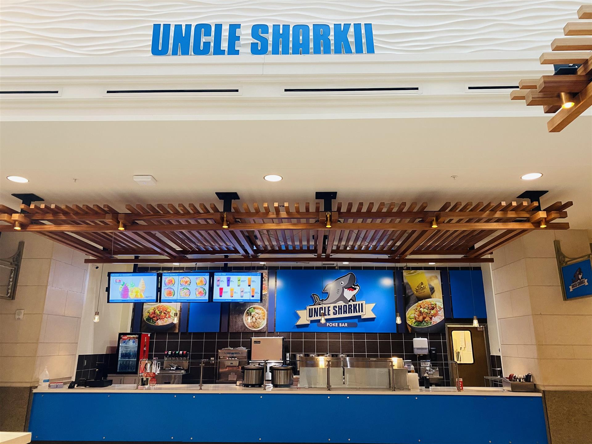 Uncle Sharkii counter in Salt Lake city