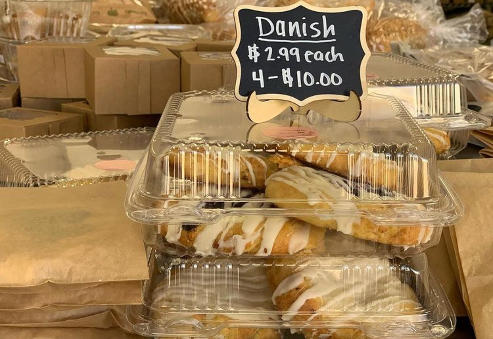various danishes