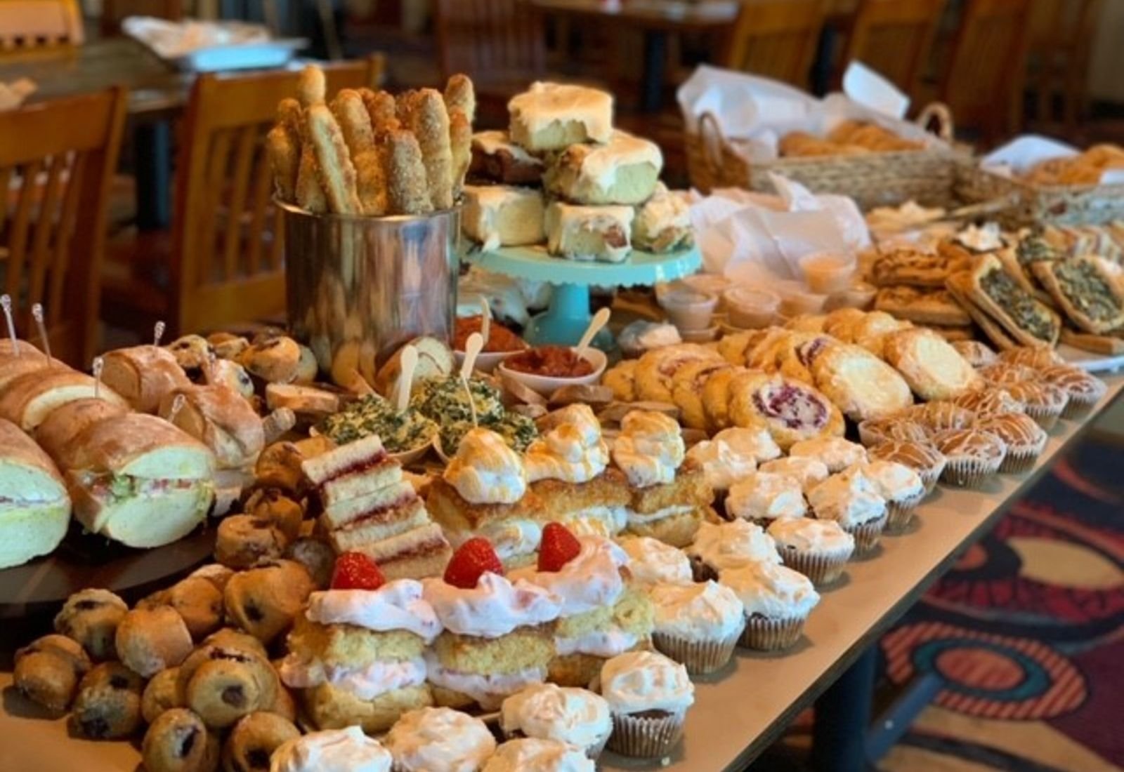 various assorted pastries