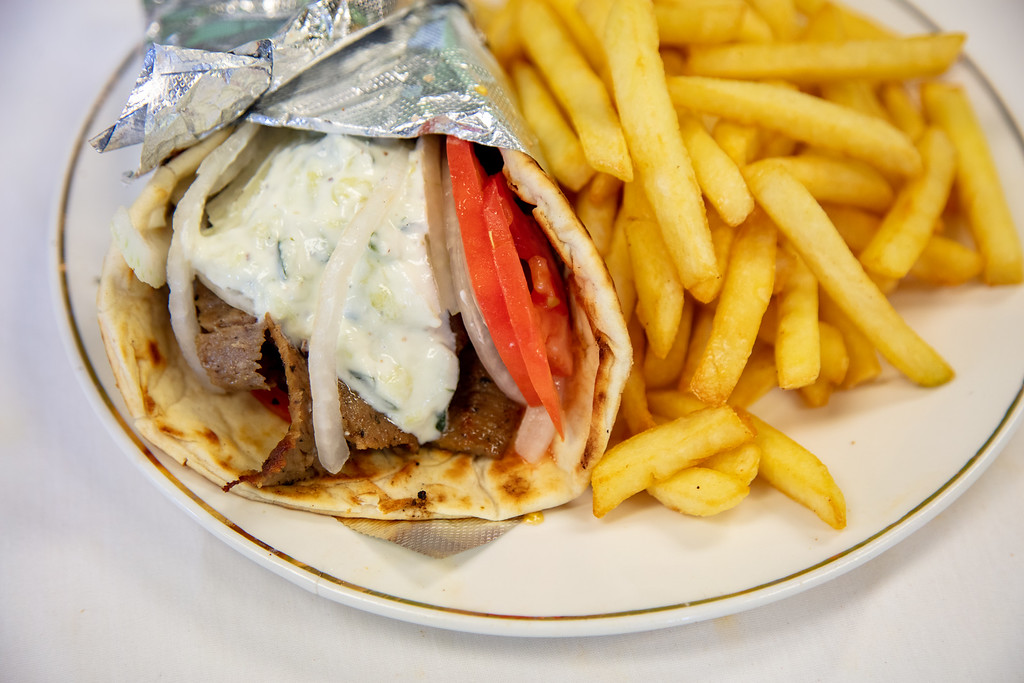 1. Gyro & Fries
