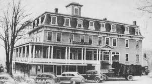 vintage photo of the early american tavern