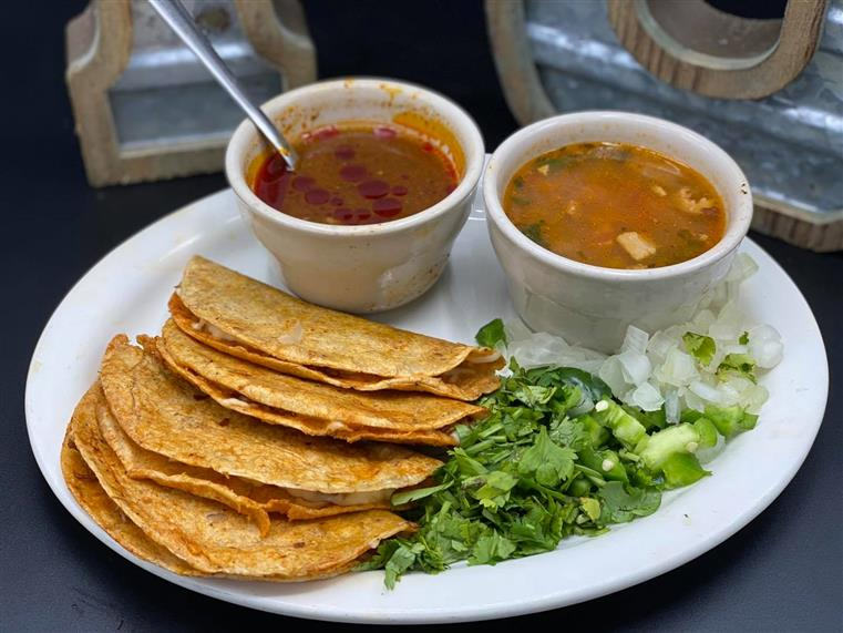 tacos with beans