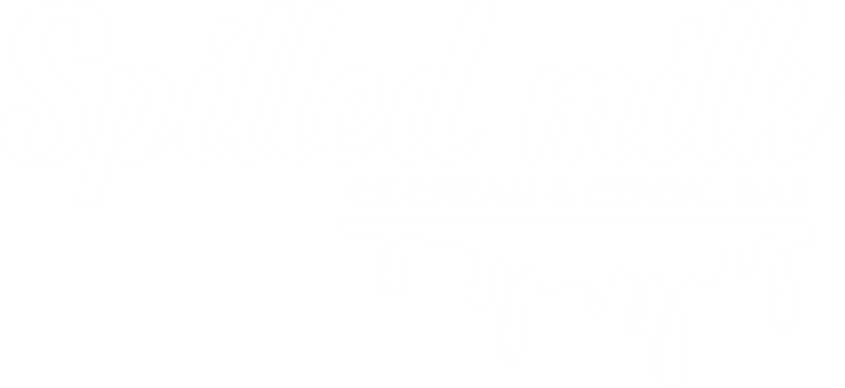 Spilled Milk Ice Cream & Cereal Bar